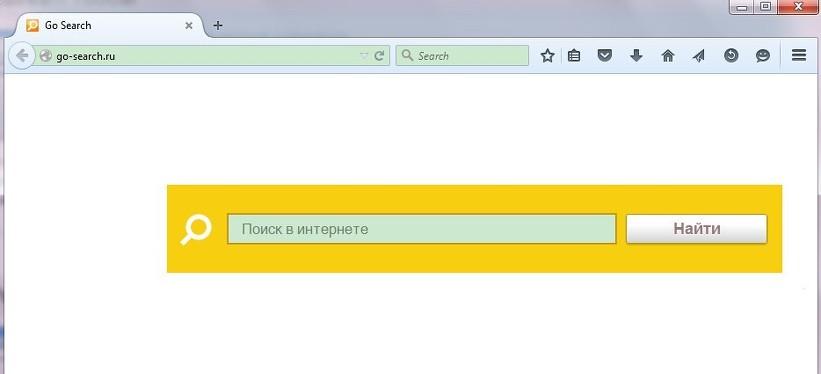 Go-search.ruを取り除きます