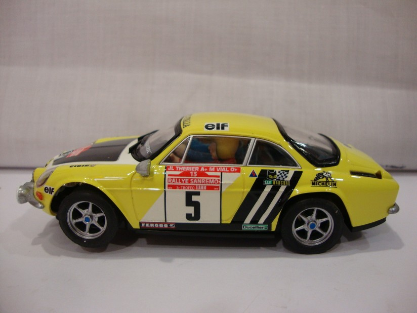 renault alpine a110 rallye san remo 3er trofeo renault italia scx scalextric ebay. Black Bedroom Furniture Sets. Home Design Ideas