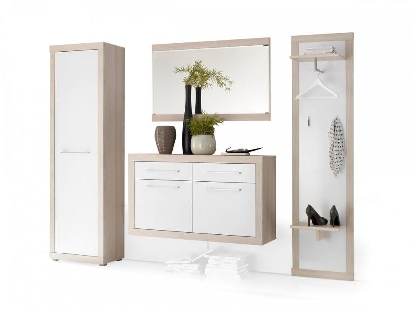 Ingresso moderno spray mobile entrata con scarpiera specchio e guardaroba - Mobili ingresso con specchio ...