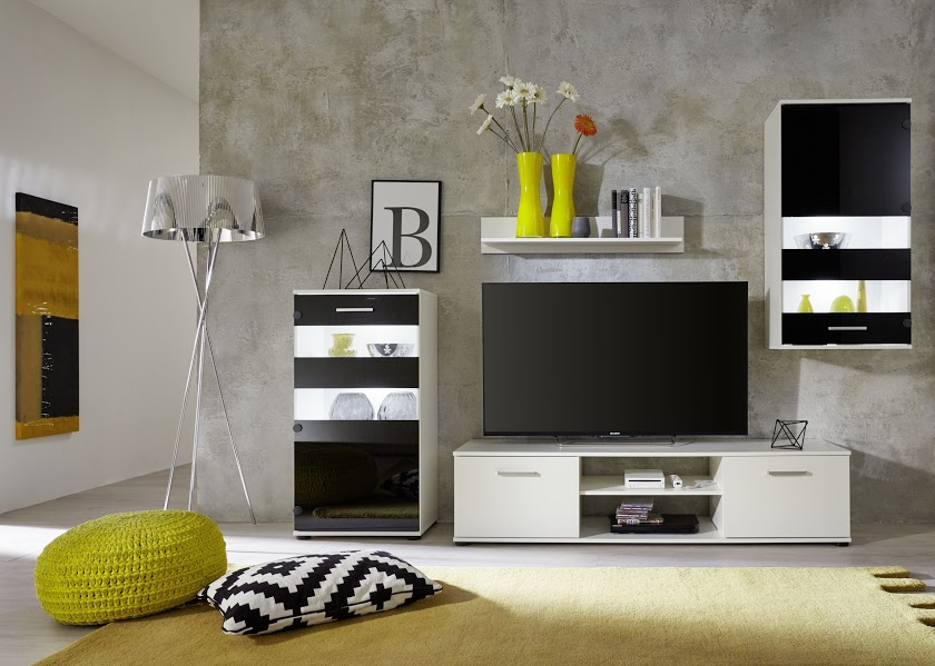 Salotto Moderno Bianco E Nero: Mobile salotto design ...