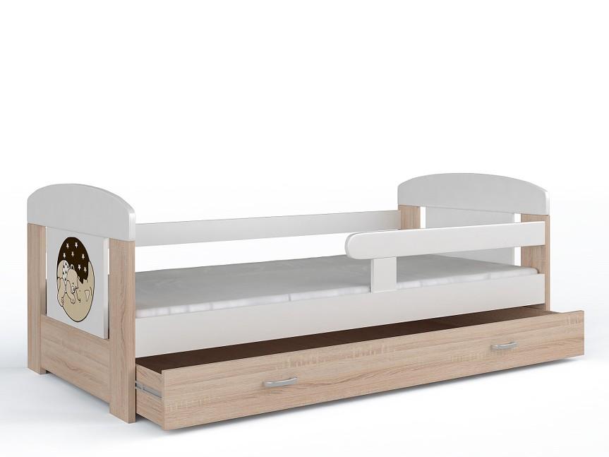 kinderbett spielbett jugendbett bett 80x160 matratze lattenrost schublade ebay. Black Bedroom Furniture Sets. Home Design Ideas