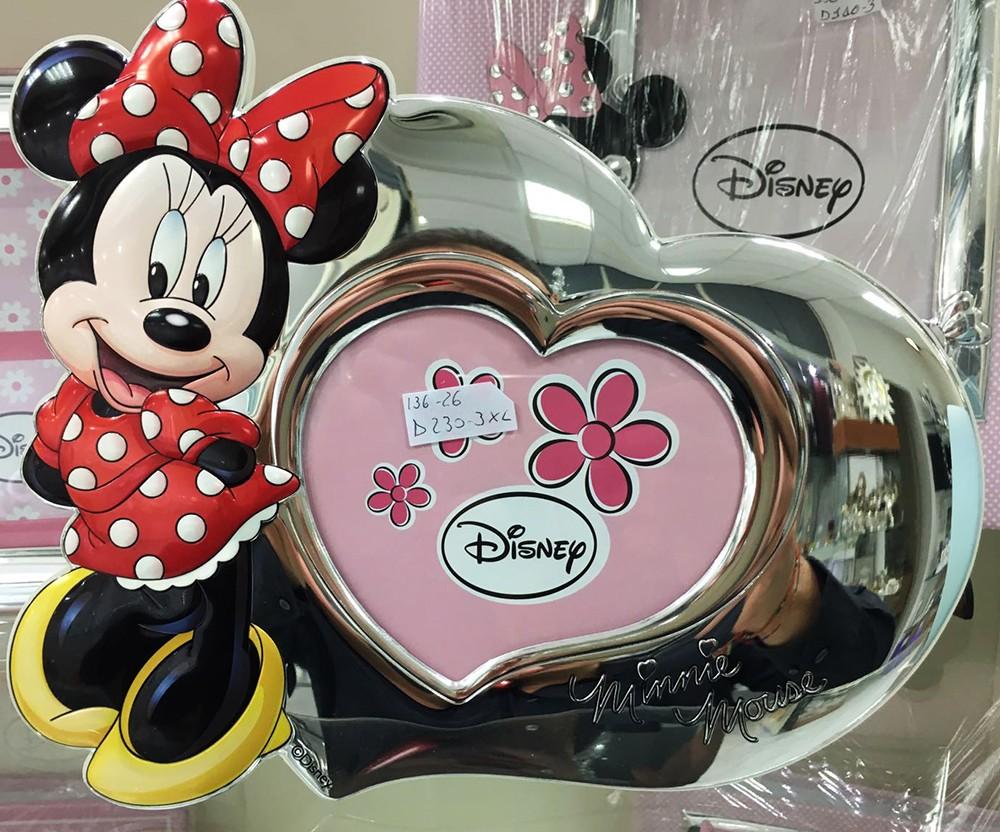 marco de fotos plata Valenti Disney Minnie Mouse 13 x 11 cm D230 ...