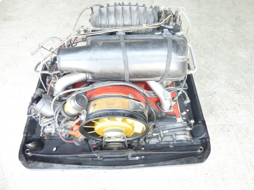 Porsche 911 Motor 930 10 3 0sc Motor Ebay