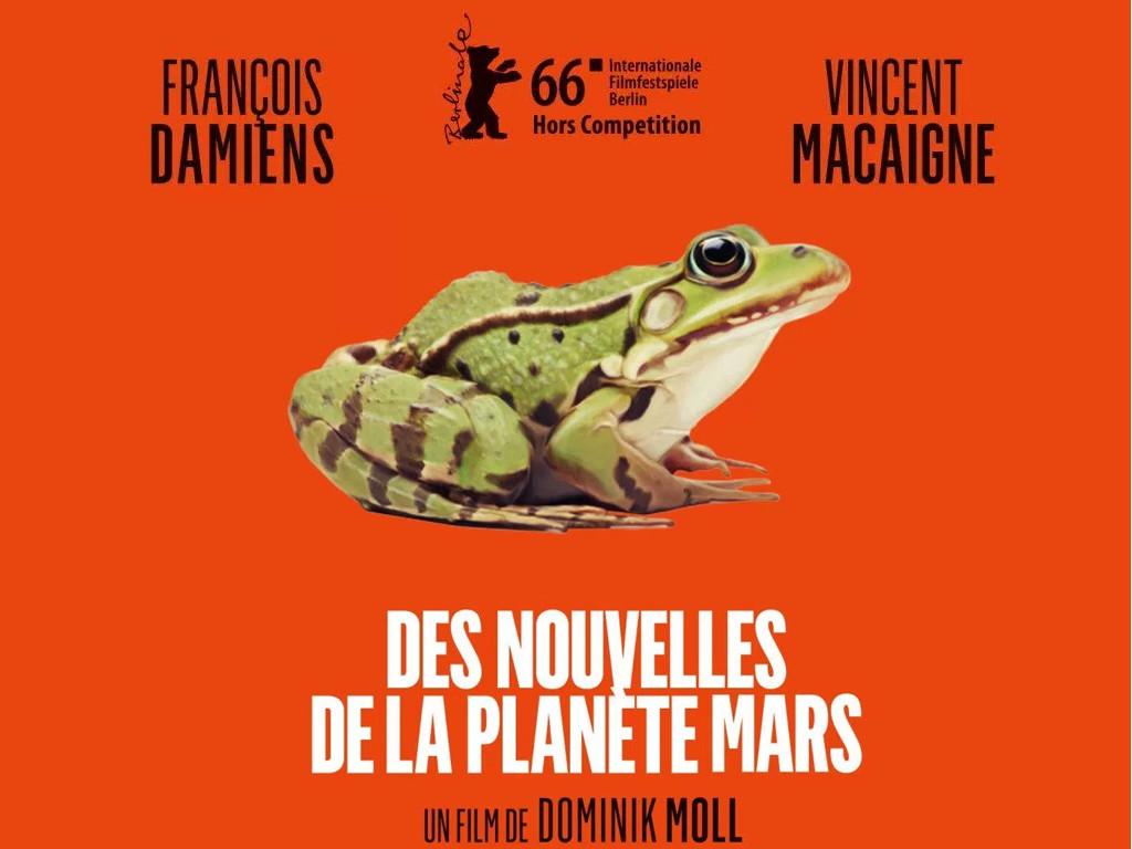 Από άλλον πλανήτη (Des nouvelles de la planète Mars) Quad Poster