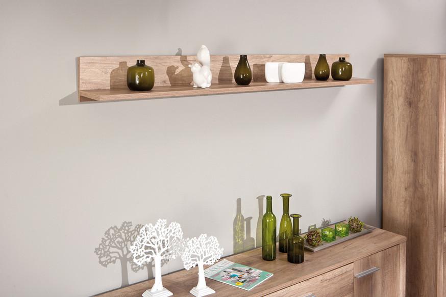... Design : Mensola rovere super ripiano soggiorno moderno di design