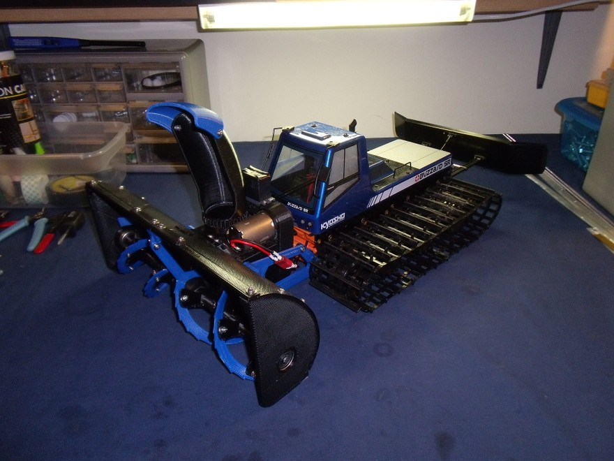 3D Printed Snow Blower + Spyker KAT Tracked Vehicle - Page ...