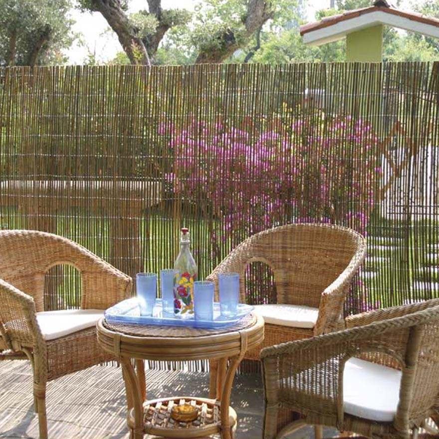 Arella in bamboo varie misure canniccio arelle canne per for Canne di bambu per arredamento