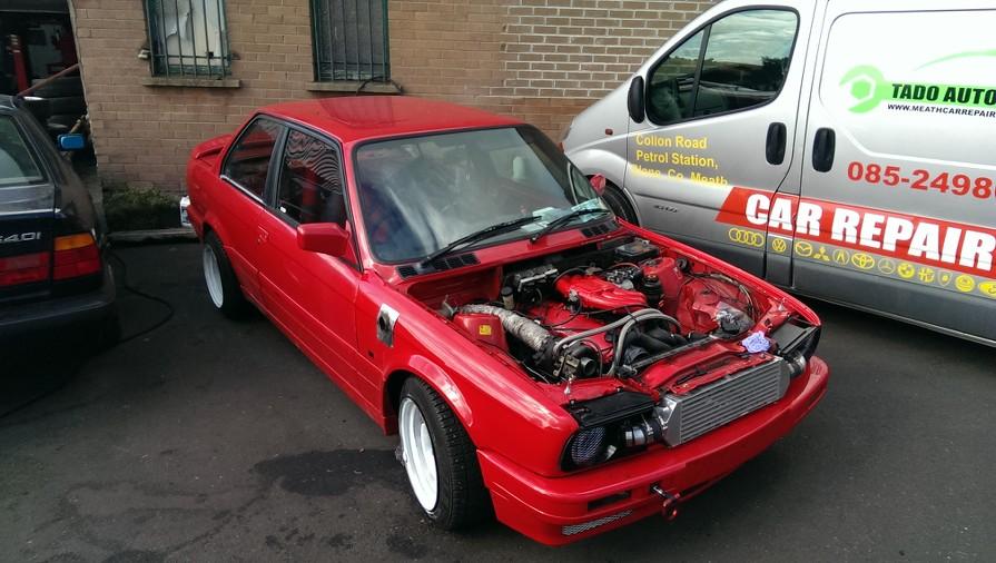 E30 M20B25 Turbo project