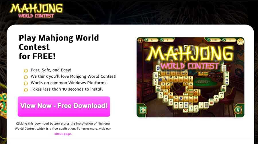 Get Rid Of Ads by Mahjong World Contest