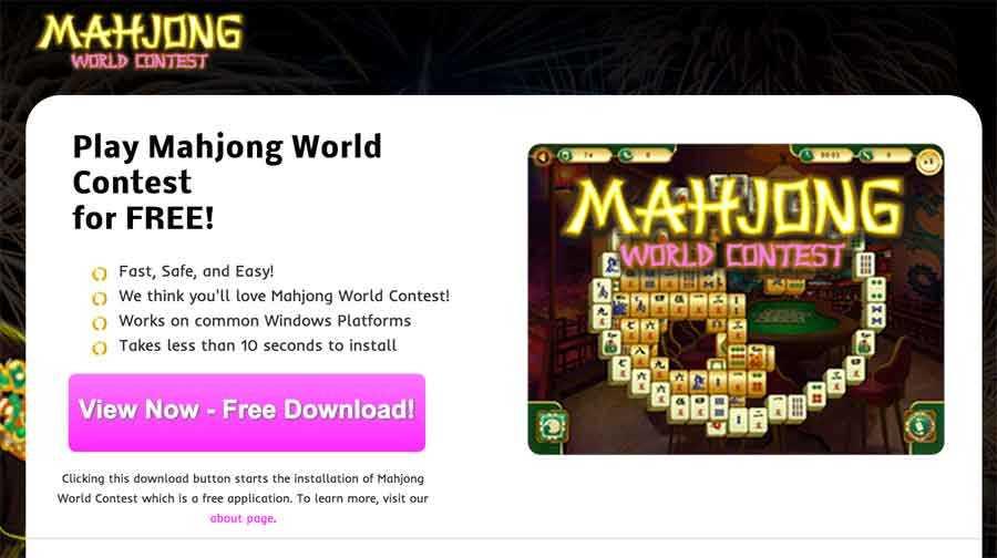 麻雀ワールドコンテストによって広告を取り除きます