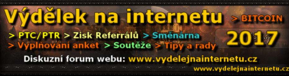 Výdělek na internetu - FORUM