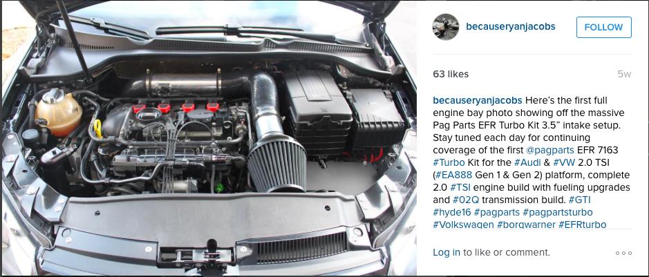 VWVortex com - HYDE16 - The Pag Parts EFR Turbo Kit