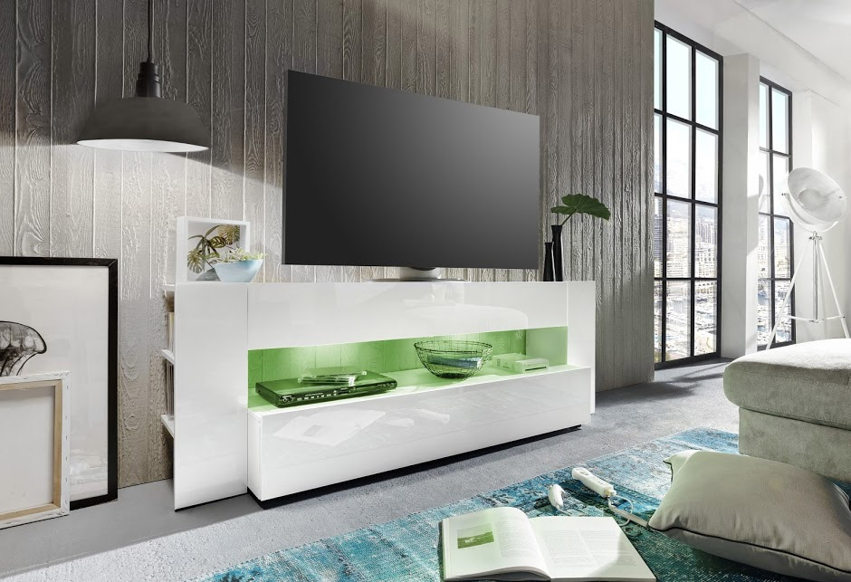 Mobile Tv Moderno Sospeso : Porta tv moderno lexus mobile soggiorno per tv con illuminazione