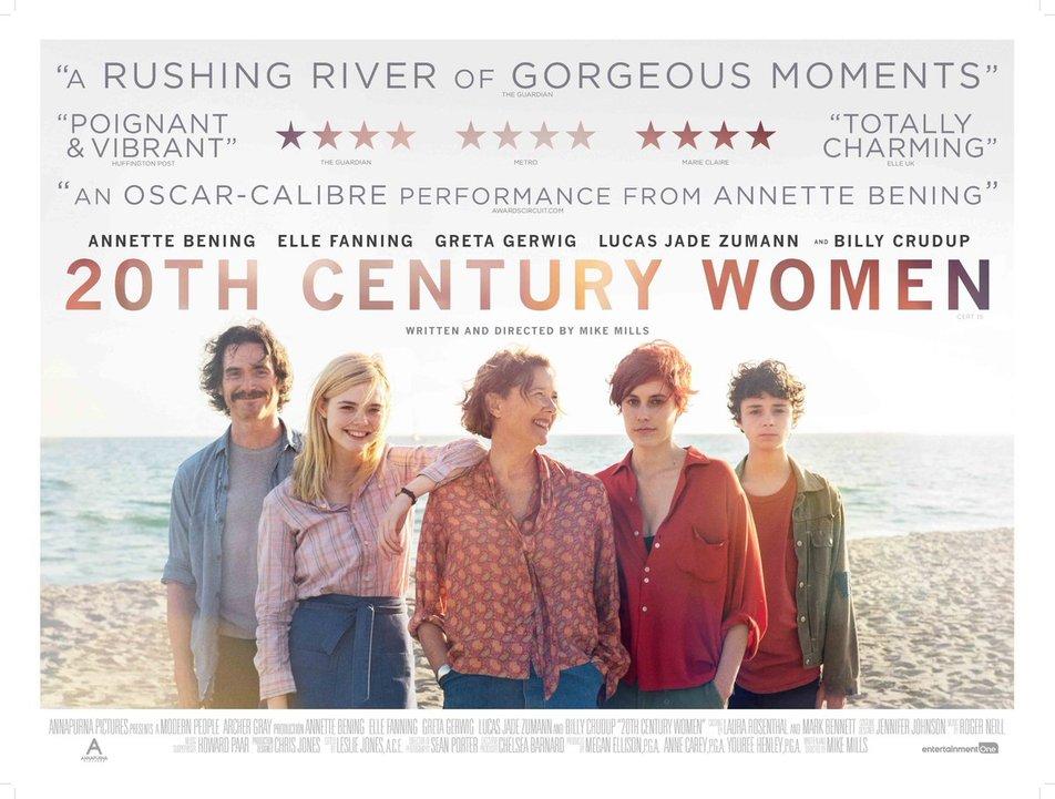 Καταπληκτικές Γυναίκες (20th Century Women) Quad Poster