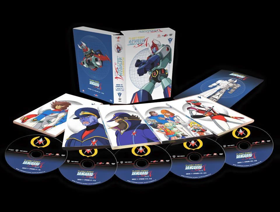 Yamato: Prima foto del DVD Box 1 di Planet Robot Danguard Ace!