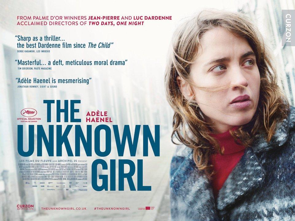 Το άγνωστο κορίτσι (La fille inconnue)  Quad Poster