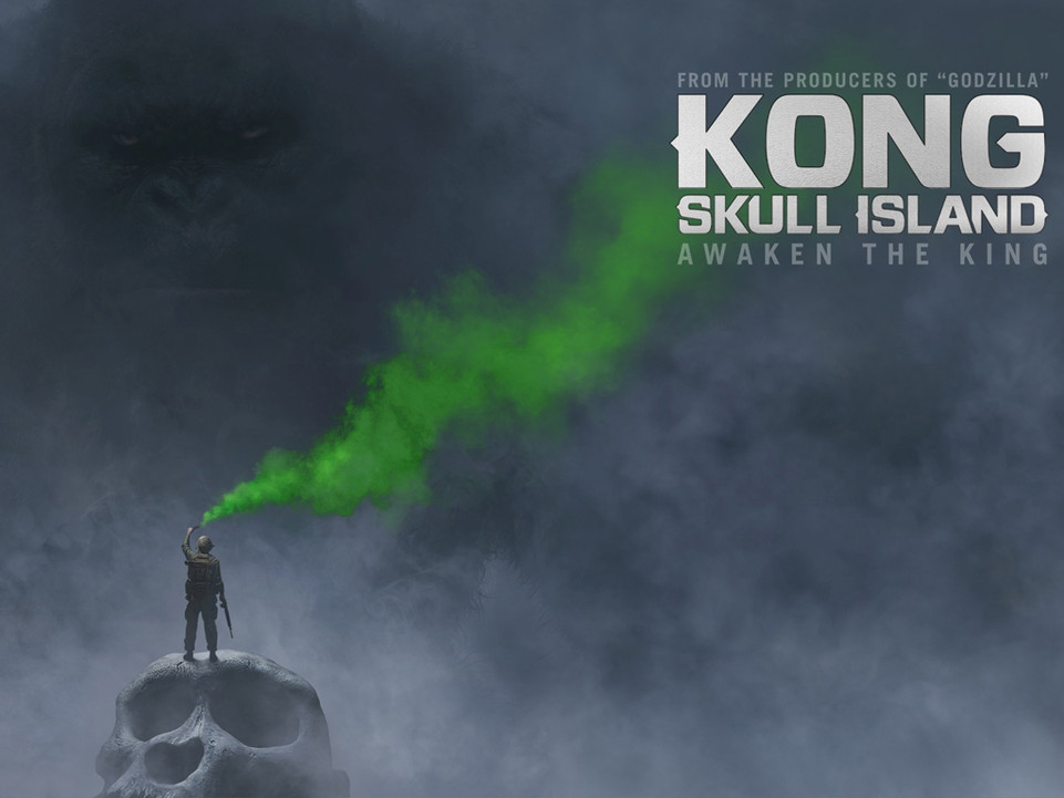 Kong: Η νήσος του κρανίου (Kong: Skull Island) Quad Poster