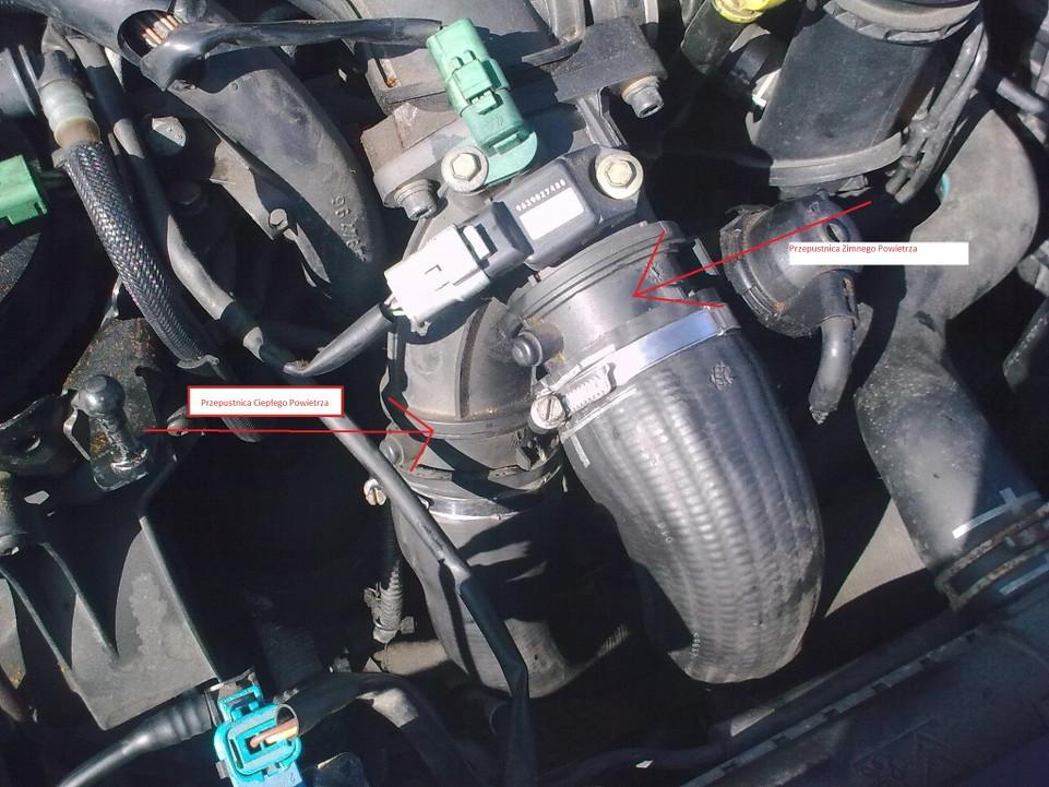 Niewiarygodnie Peugeot 407 | Peugeot 407 2.0 HDI problem przepustnica dławiąca OY71
