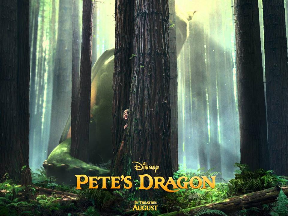 Ο Πιτ και ο Δράκος του (Pete's Dragon) Wallpaper