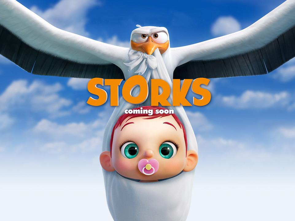 Πελαργοί (Storks) Wallpaper