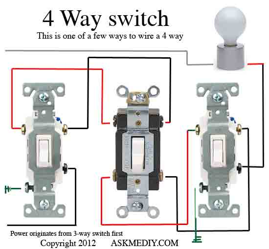 Replacing three and four way light switching with the Z-wave ... on