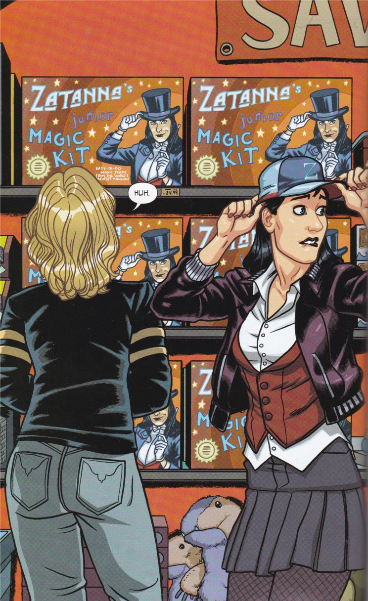 Black canary and zatanna bound