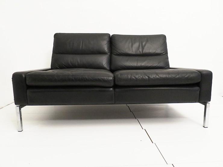peter piehl f r wilkhahn zweisitzer sofa ohne armlehnen 60er 70er space age. Black Bedroom Furniture Sets. Home Design Ideas