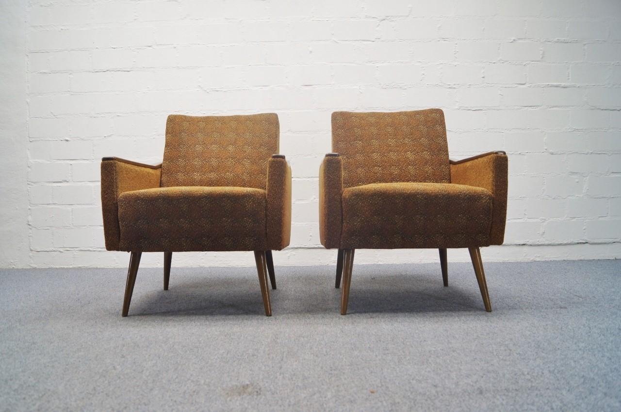 70er sofagarnitur sofa 2x sessel mit schlaffunktion daybed ebay. Black Bedroom Furniture Sets. Home Design Ideas