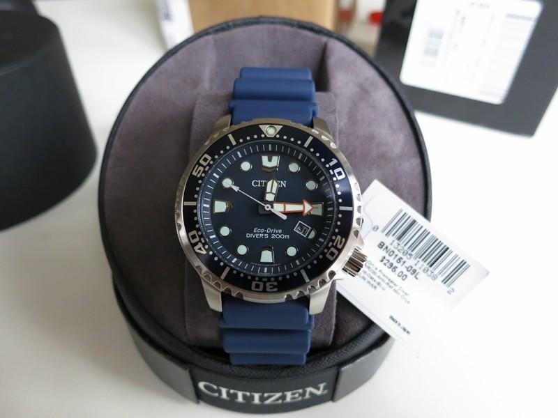 1557a5b365ab3 New Citizen Promaster Professional Diver BN0151-09L some pics