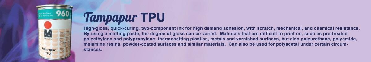 tampapur TPU pad printing ink