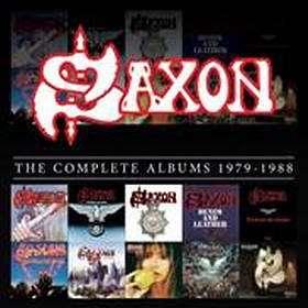 SAXON reeditam caixa discografia