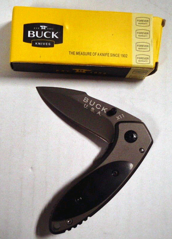 Important Info! - Fake, Counterfeit, Knockoff Buck Knives