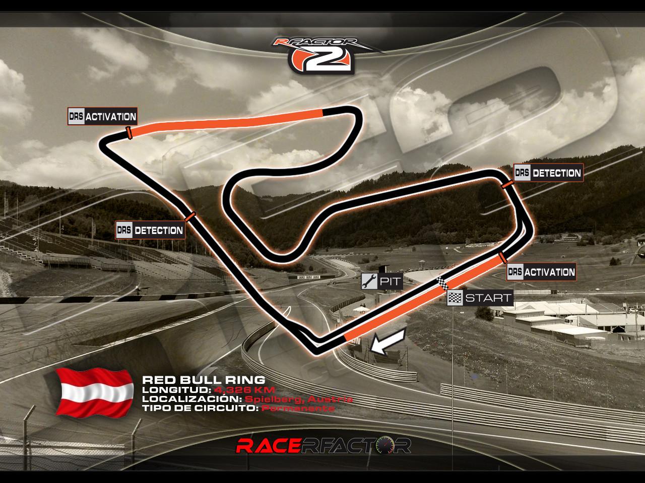 RaceRfactor Austria 2014
