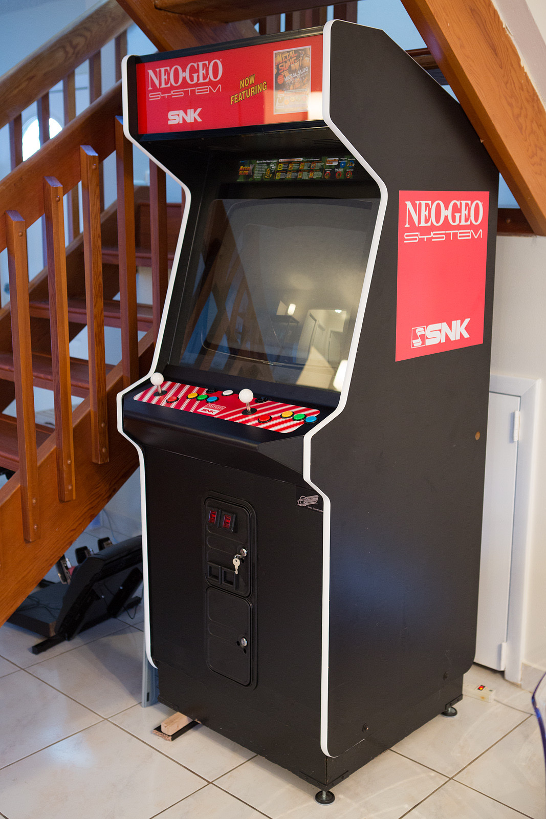 Neo Geo 1 Slot Conversion Dynamo Coin Op Videogame