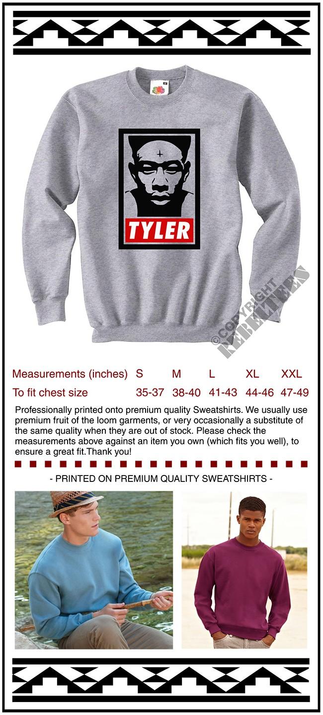 d00ac70264ef Tyler The Creator SWEATSHIRT - illustration jumper sweater top ODD ...