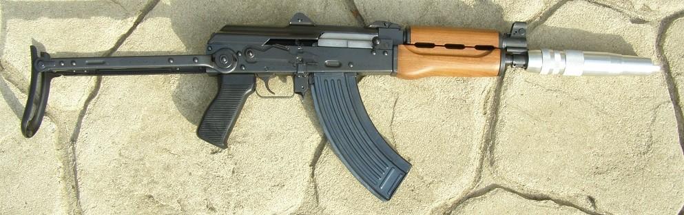 AK-47 Micro Draco Pistol -