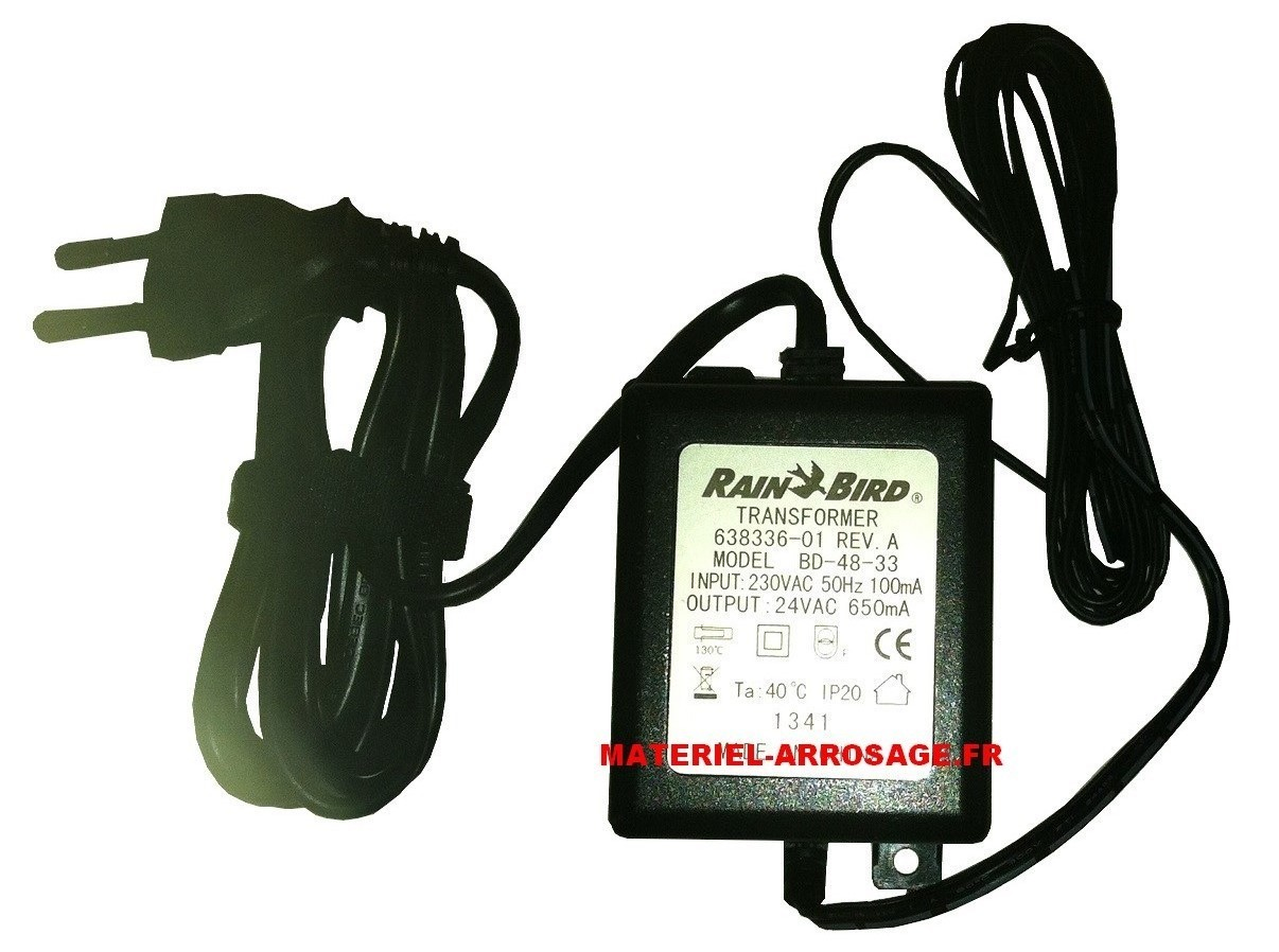 Transformateur 24v rain bird programmateur d 39 arrosage ebay - Transformateur 220v 24v alternatif ...
