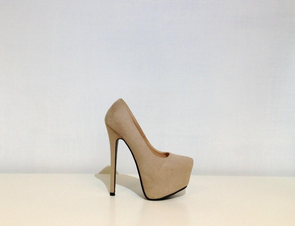 Scarpe donna decolt scamosciate decollet tacchi alti 14 for Interno 1 scarpe