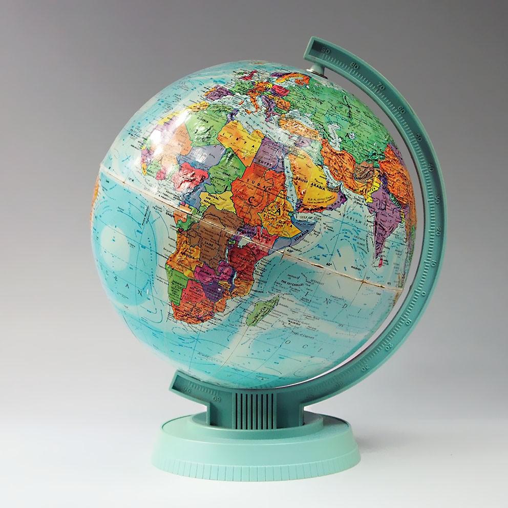 globe terrestre mappemonde replogle vintage map of the. Black Bedroom Furniture Sets. Home Design Ideas