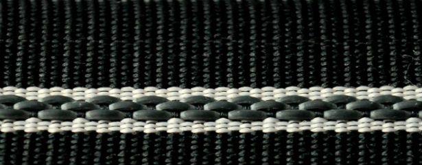 2m of  Rubberized Straight Petersham WAISTBAND Tape 45 mm Skirt Trousers Corset