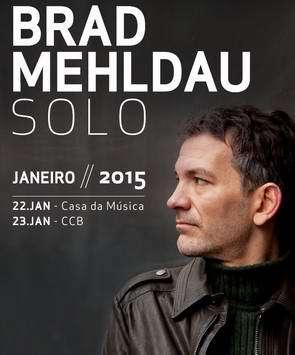 BRAD MEHLDAU 2015 Cartaz