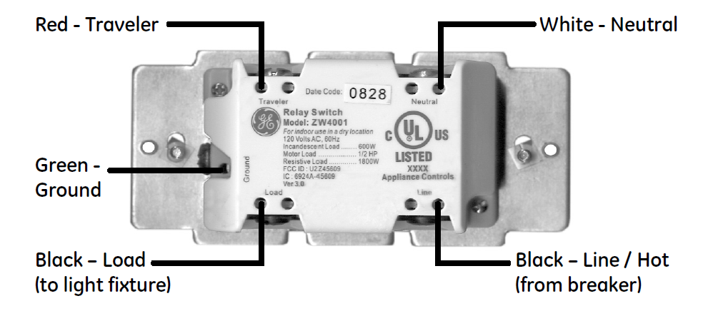 I Am Trying To Install A Ge In Wall Smart Dimmer Zw3005