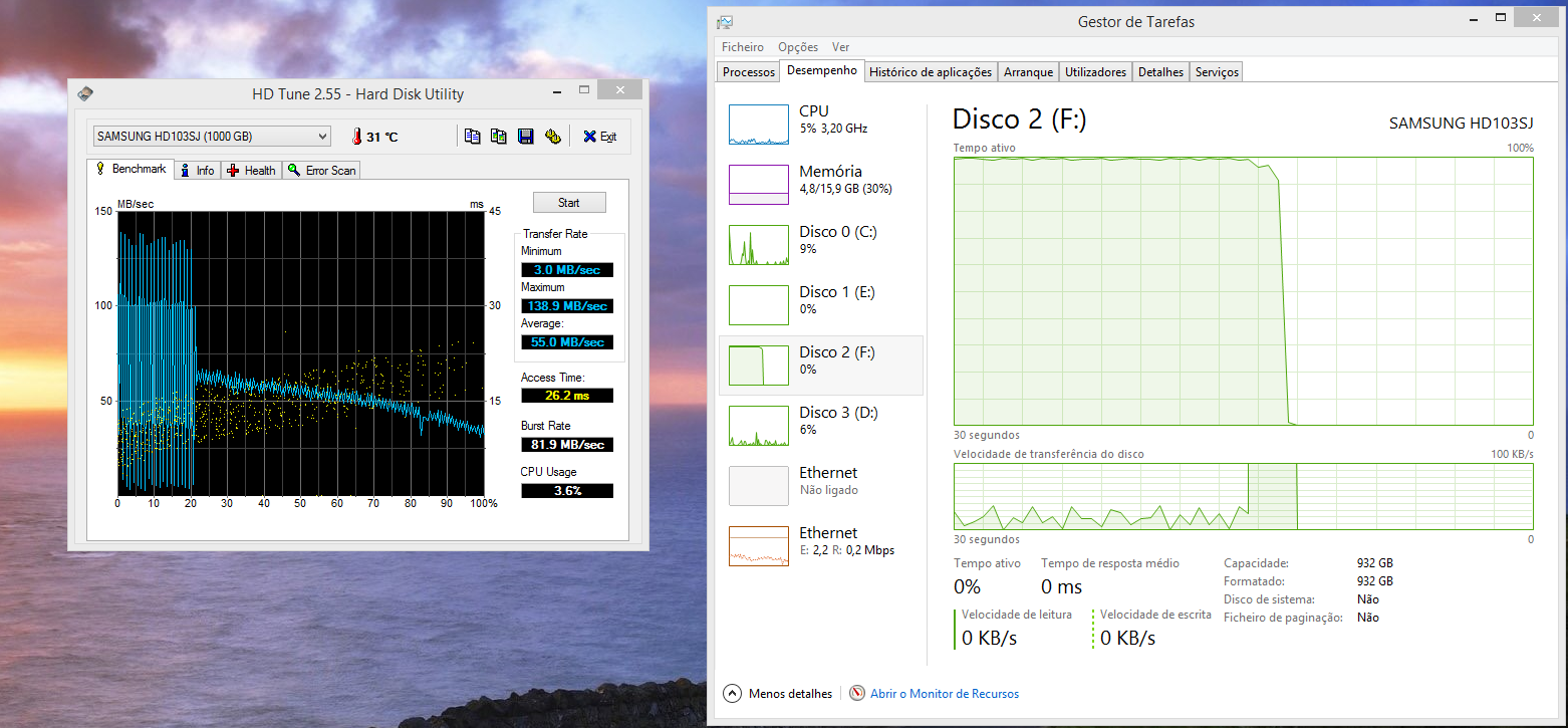 Solved] Spinpoint F3 1TB poor performace | AnandTech Forums