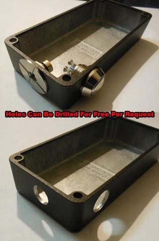hammond box mod kit 1590g 1590b with vt 510 e switch mosfet magnet ebay. Black Bedroom Furniture Sets. Home Design Ideas