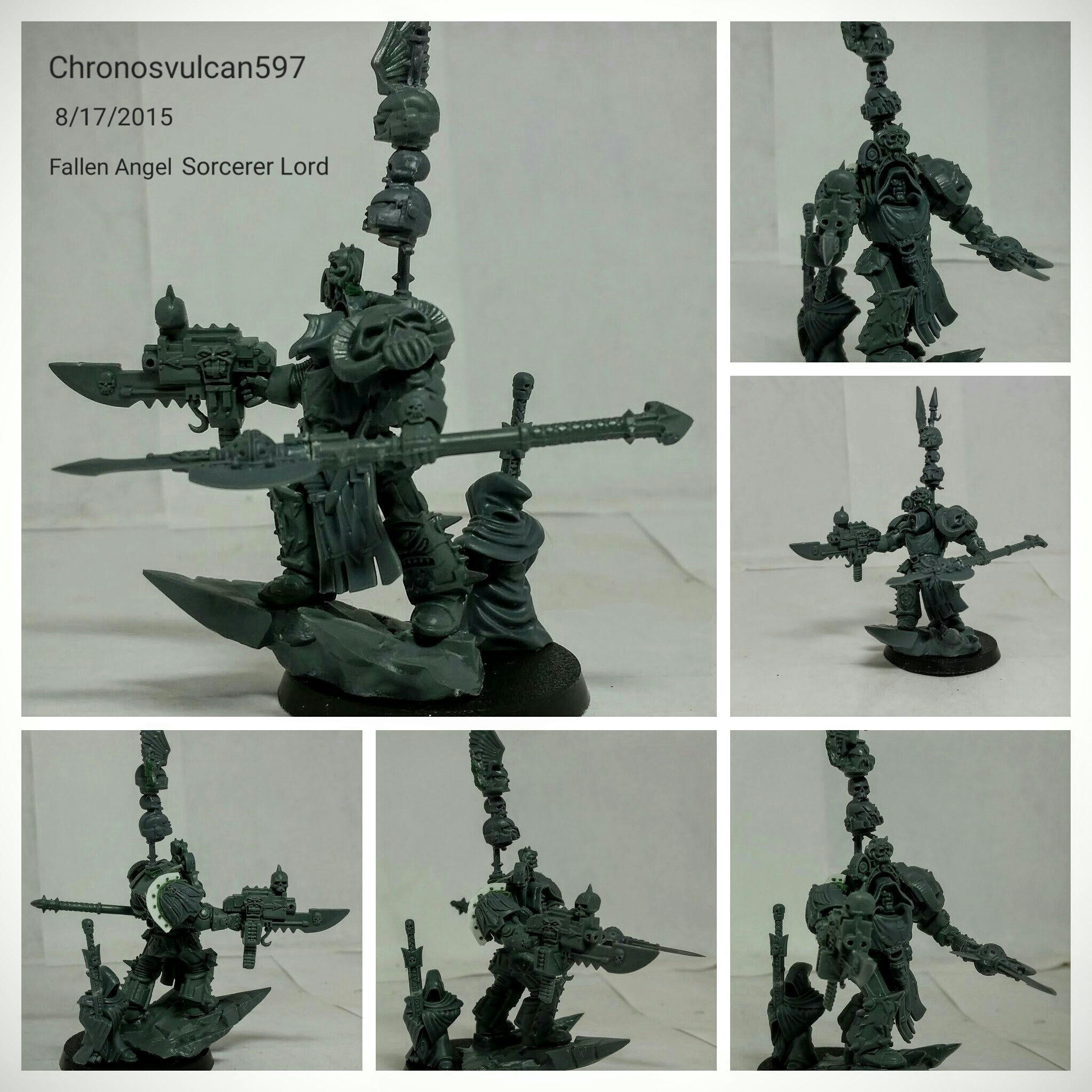 Fallen Angel Army - + WORKS IN PROGRESS + - The Bolter and Chainsword