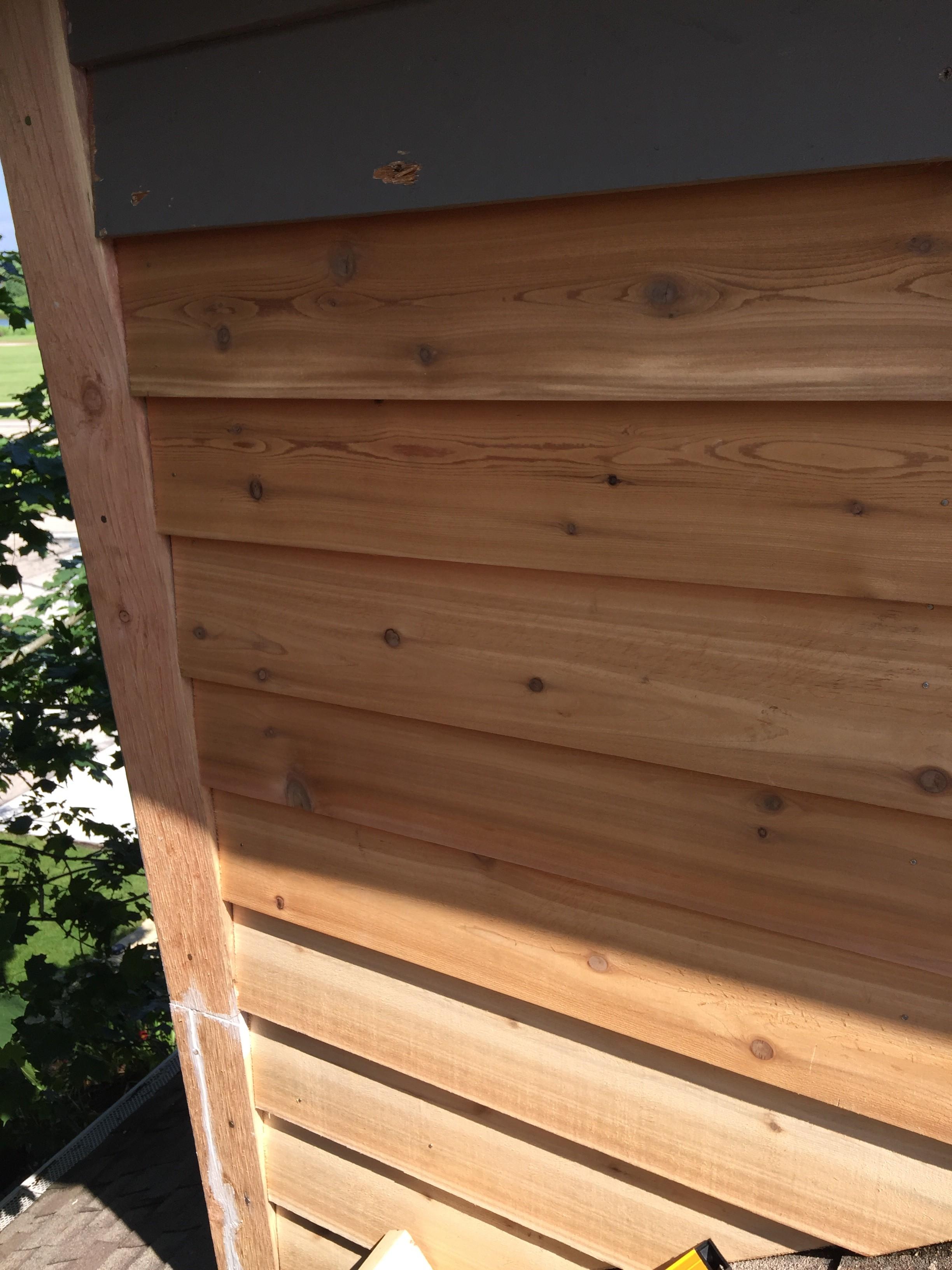 Woodworking Talk Woodworkers Forum Cutting Bevel Cedar