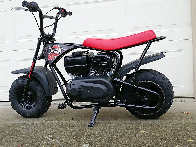 Monster Moto MMB-80 with Predator 212 and Torque Converter