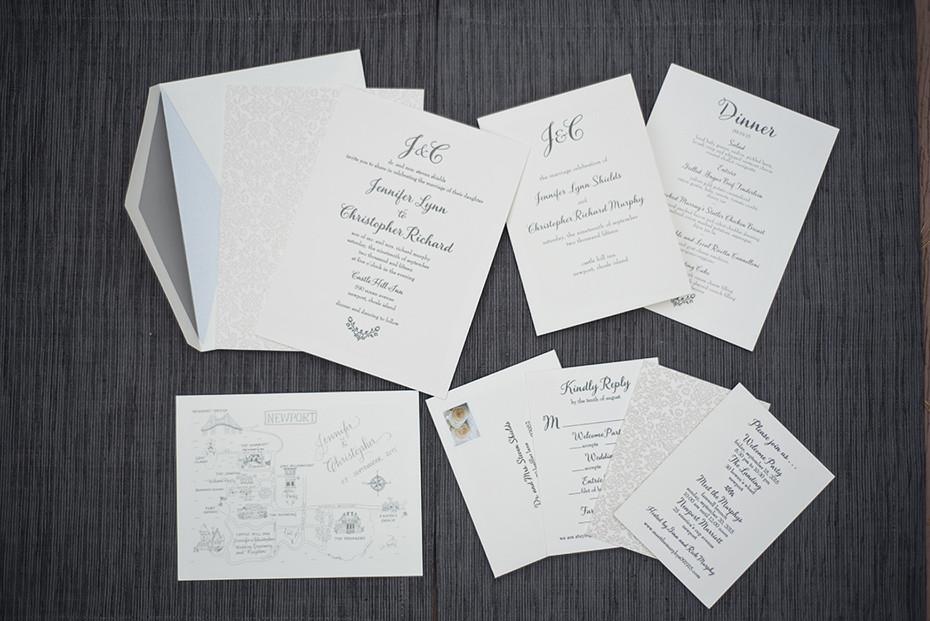 Wedding Invitations Castle Hill: Castle Hill Inn Wedding, Newport RI :: Jennifer