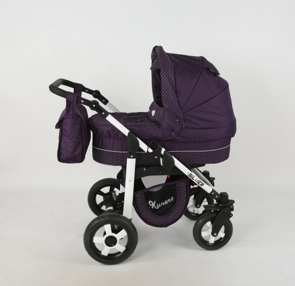 kinderwagen 3in1 silver kunert kinderwagen babywanne. Black Bedroom Furniture Sets. Home Design Ideas