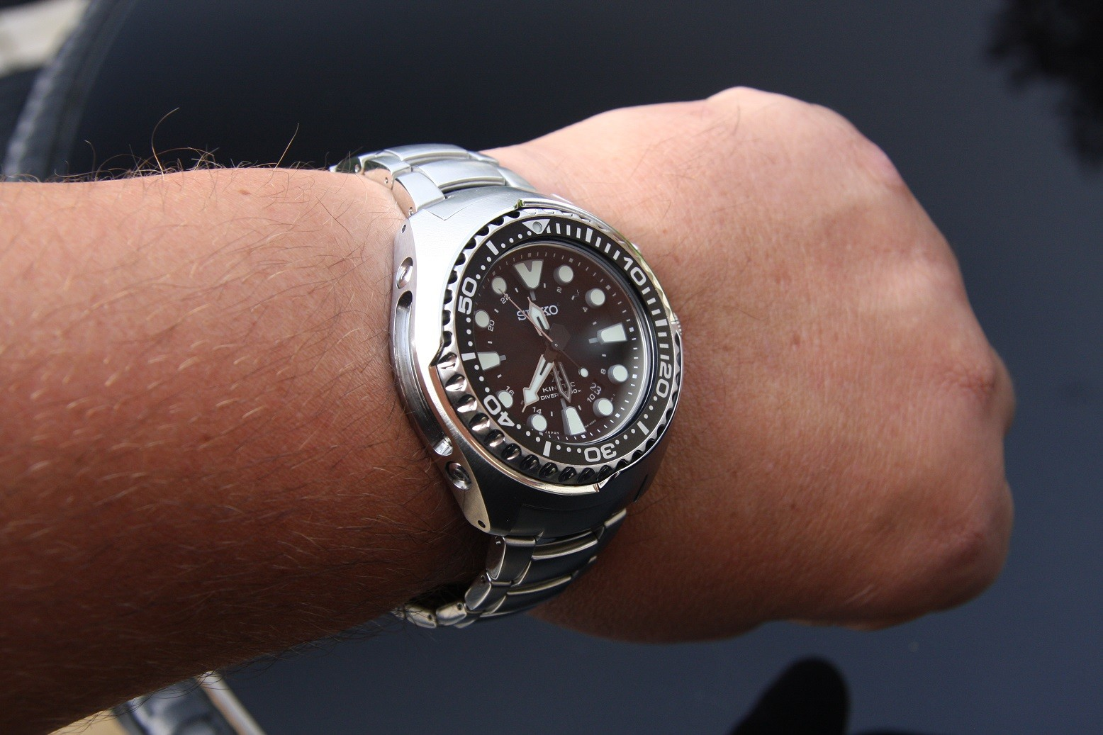 Just In The Prospex Gmt Kinetic Tuna Air Diver 200m